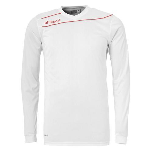 Maillot enfant Uhlsport Stream 3. 0 Blanc - Rouge manches longues