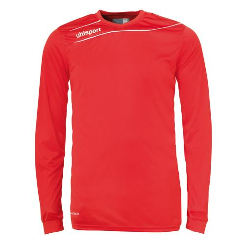 Maillot Uhlsport Stream 3. 0 Rouge-Blanc manches longues