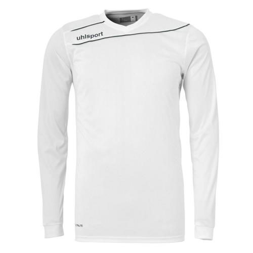 Maillot Uhlsport Stream 3. 0 Blanc-Noir manches longues