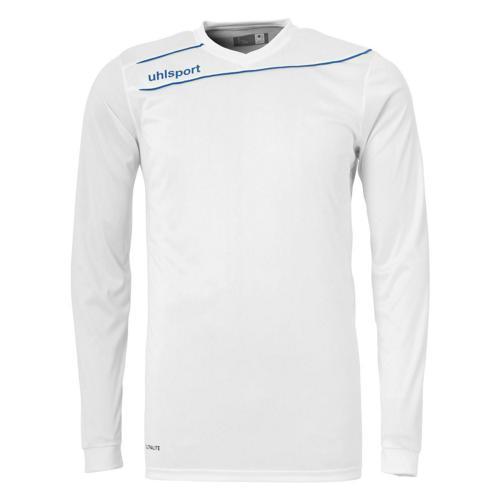 Maillot Uhlsport Stream 3. 0 Blanc-Azur manches longues