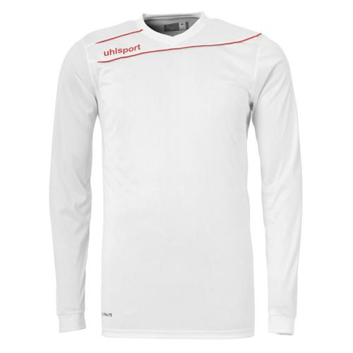 Maillot Uhlsport Stream 3. 0 Blanc - Rouge manches longues