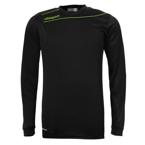 Maillot Uhlsport Stream 3. 0 Noir - Vert fluo manches longues