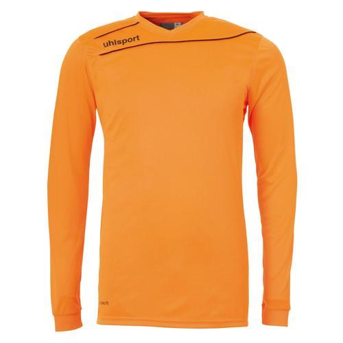 Maillot Uhlsport Stream 3. 0 Orange fluo - Noir manches longues