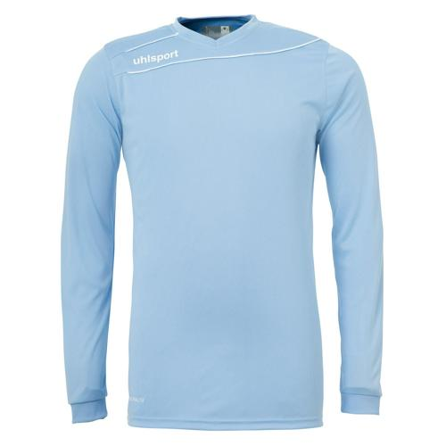 Maillot Uhlsport Stream 3. 0 Ciel-Blanc manches longues