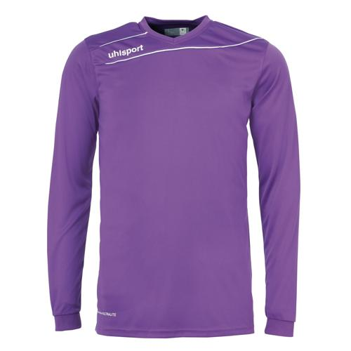 Maillot Uhlsport Stream 3. 0 Violet-Blanc manches longues