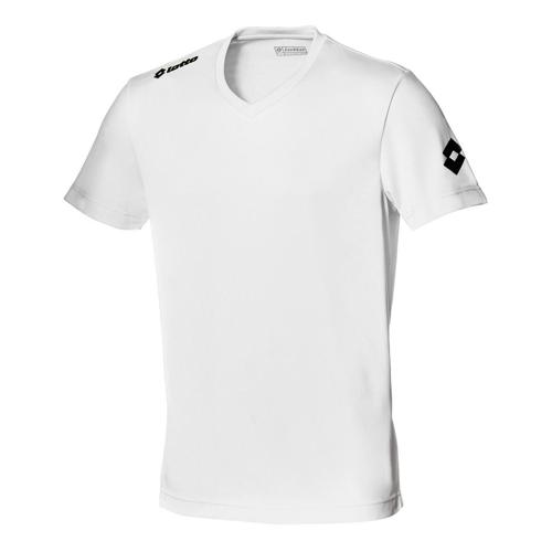 Maillot enfant Lotto Team Evo MC Blanc