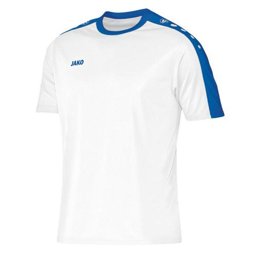 MAILLOT STRIKER MC BLANC-ROYAL JAKO