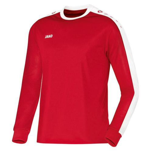MAILLOT STRIKER ML ROUGE-BLANC JAKO