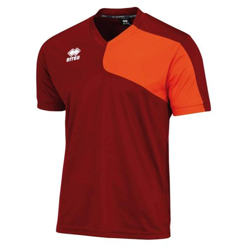 MAILLOT MARCUS MC ERREA BORDEAUX-ORANGE