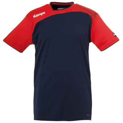 MAILLOT EMOTION KEMPA MARINE-ROUGE