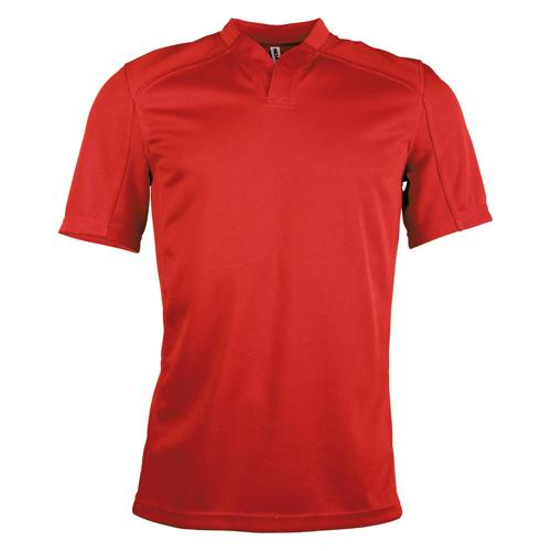Maillot classic rugby Tech adulte rouge