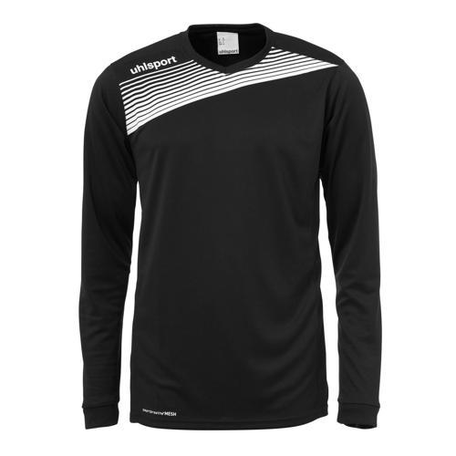 Maillot Uhlsport Liga 2. 0 ML Noir/Blanc