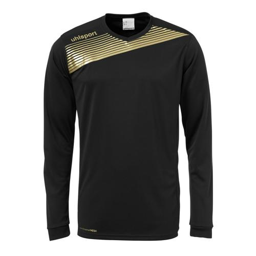 Maillot Uhlsport Liga 2. 0 ML Noir/Or