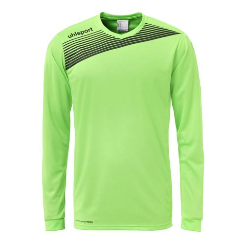 Maillot Uhlsport Liga 2. 0 ML Vert flash/Noir