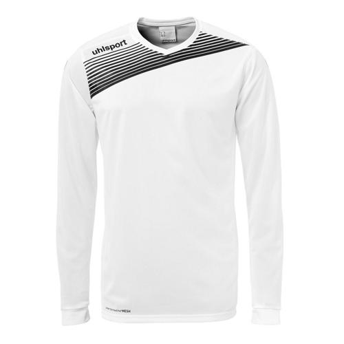 Maillot Uhlsport Liga 2. 0 ML Blanc/Noir