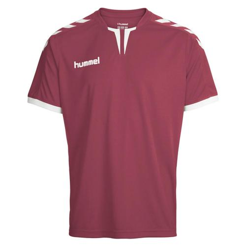 Maillot Hummel Core MC Bordeaux/Blanc