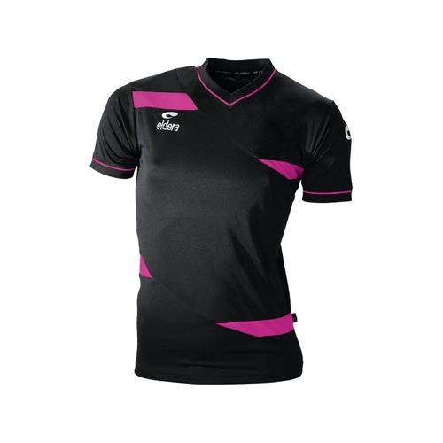 Maillot MC Eldera Olympic MC Noir/Fuchsia