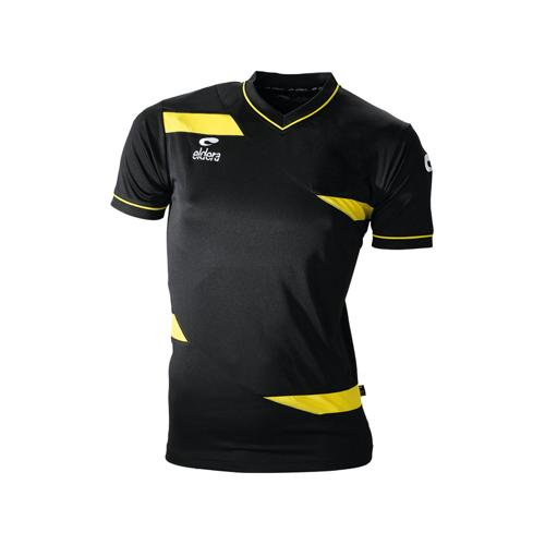 Maillot MC Eldera Olympic MC Noir/Jaune