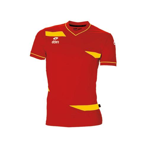 Maillot MC Eldera Olympic MC Rouge/Jaune