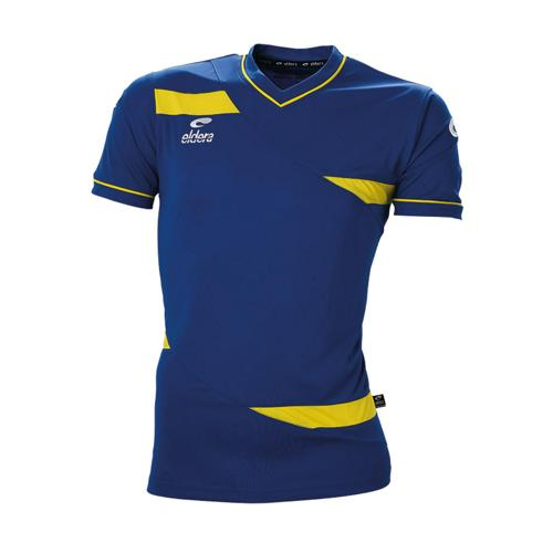 Maillot MC Eldera Olympic MC Royal/Jaune