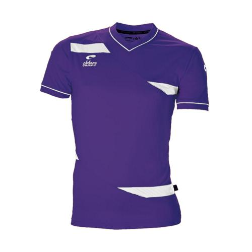 Maillot MC Eldera Olympic MC Violet/Blanc