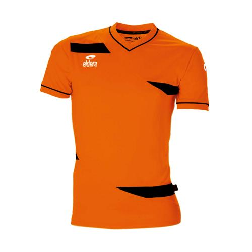 Maillot MC Eldera Olympic MC Orange Fluo/Noir