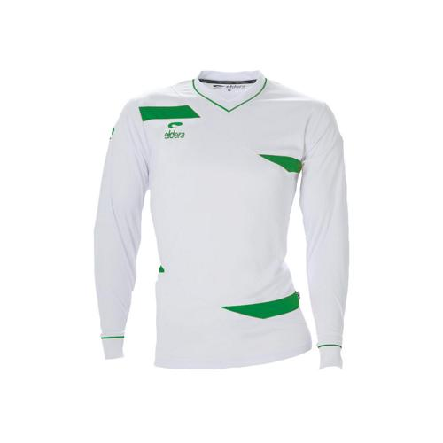 Maillot ML Eldera Olympic ML Blanc/Vert
