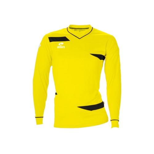 Maillot ML Eldera Olympic ML Jaune Fluo/Noir
