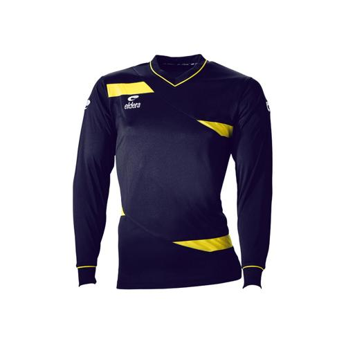 Maillot ML Eldera Olympic ML Marine/Jaune