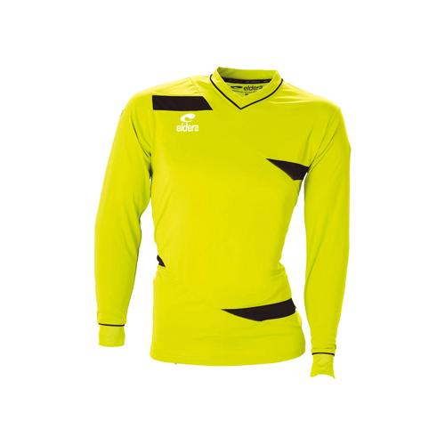 Maillot ML Eldera Olympic ML Pistache Fluo/Noir