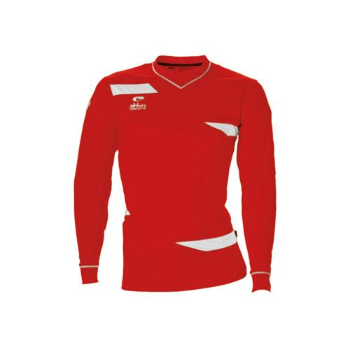 Maillot ML Eldera Harmony ML Rouge/Blanc