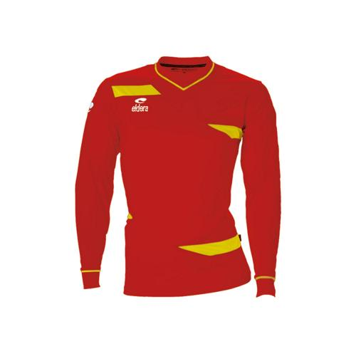 Maillot ML Eldera Olympic ML Rouge/Jaune