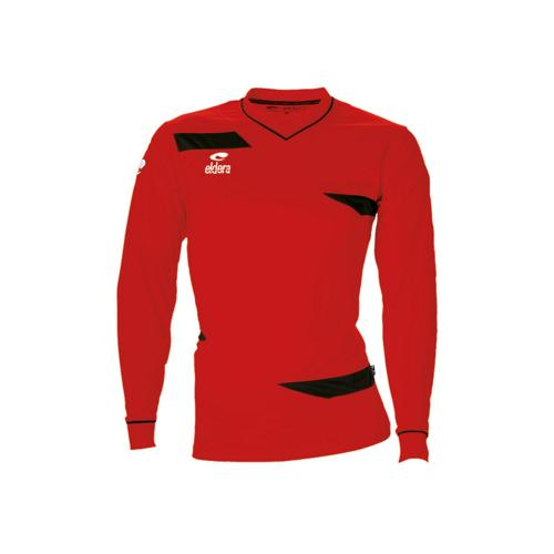 Maillot ML Eldera Harmony ML Rouge/Noir