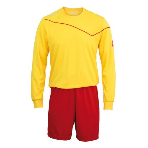 Set Maillot/Short Lotto Sigma Pro ML Jaune/Rouge