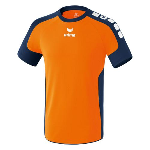 Maillot Erima Valencia Orange fluo/Marine