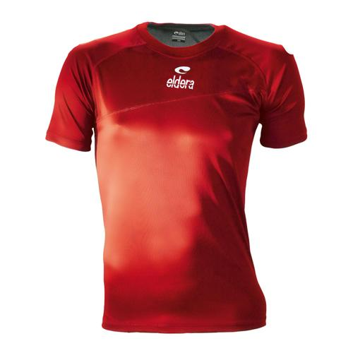 Maillot Eldera Armure Rugby Rouge