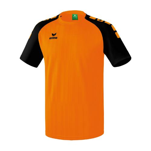 Maillot Erima Tanaro 2.0 MC Orange/Noir