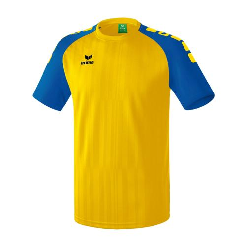 Maillot Erima Tanaro 2.0 MC Jaune/Royal