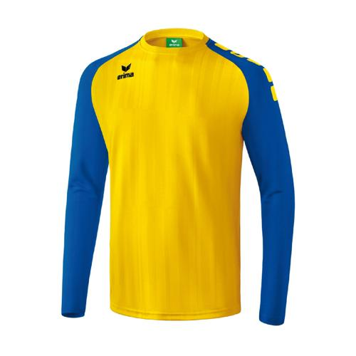 Maillot Erima Tanaro 2.0 ML Jaune/Royal