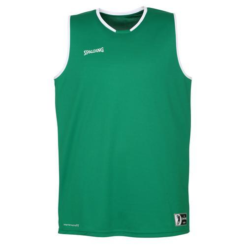 Maillot masculin Spalding Move Vert/Blanc