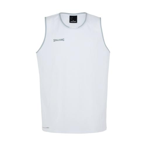 Maillot kids Spalding Move Blanc/Gris
