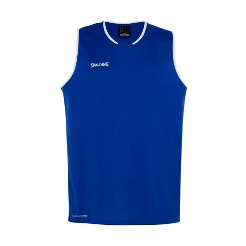 Maillot kids Spalding Move Royal/Blanc