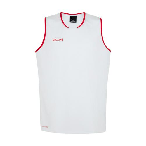 Maillot kids Spalding Move Blanc/Rouge