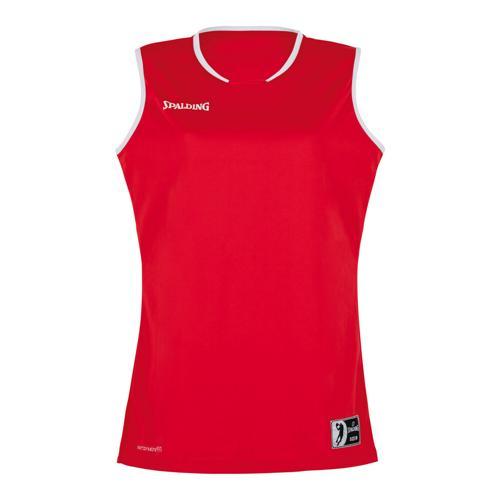 Maillot Move feminin Rouge/Blanc Spalding