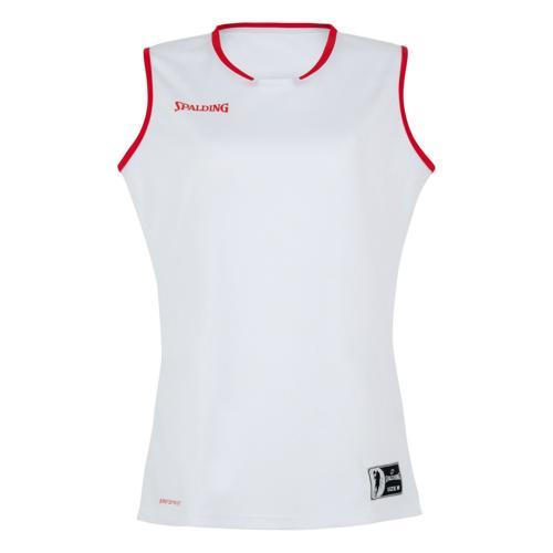 Maillot Move feminin Blanc/Rouge Spalding