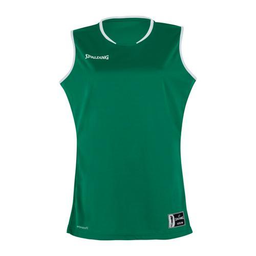 Maillot Move feminin Vert/Blanc Spalding