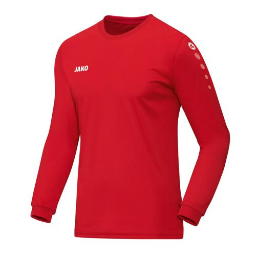 Maillot ML Jako Team Rouge