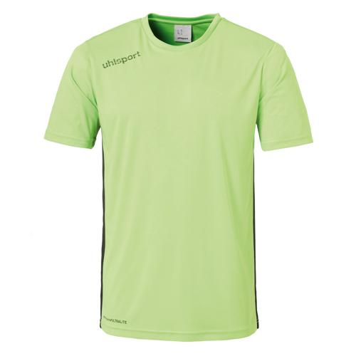 Maillot MC Uhlsport Essential Vert flash/Noir