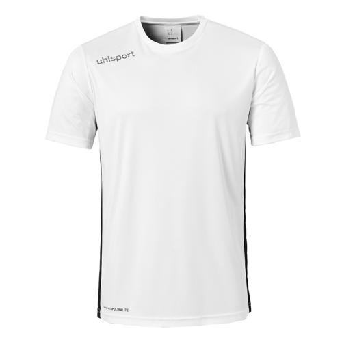 Maillot MC Uhlsport Essential Blanc/Noir