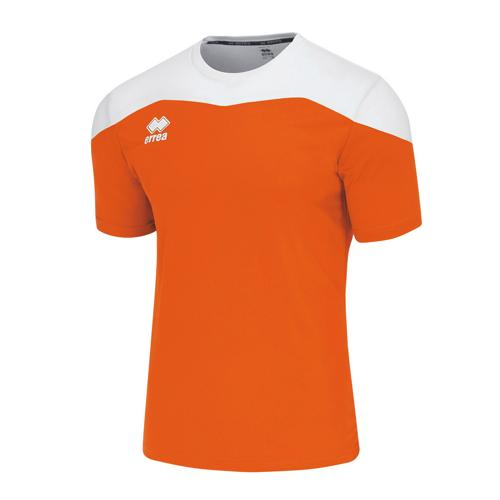 Maillot MC Errea Gareth Orange/Blanc